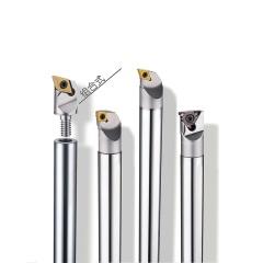 整体钨钢硬质合金抗震后拉延长刀杆 1