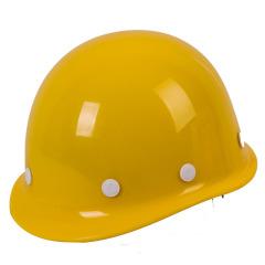 安全帽高强度玻璃钢型工地施工建筑工程防砸防护劳保抗砸头盔